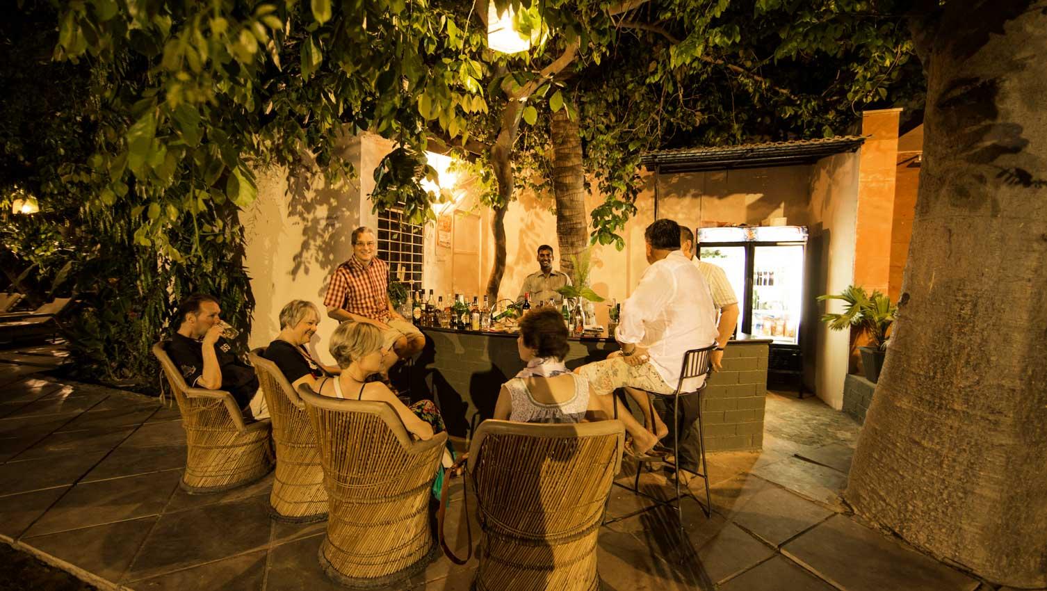 Garden at Hotel Ranthambhore Regency, 3* Hotel in Ranthambhore