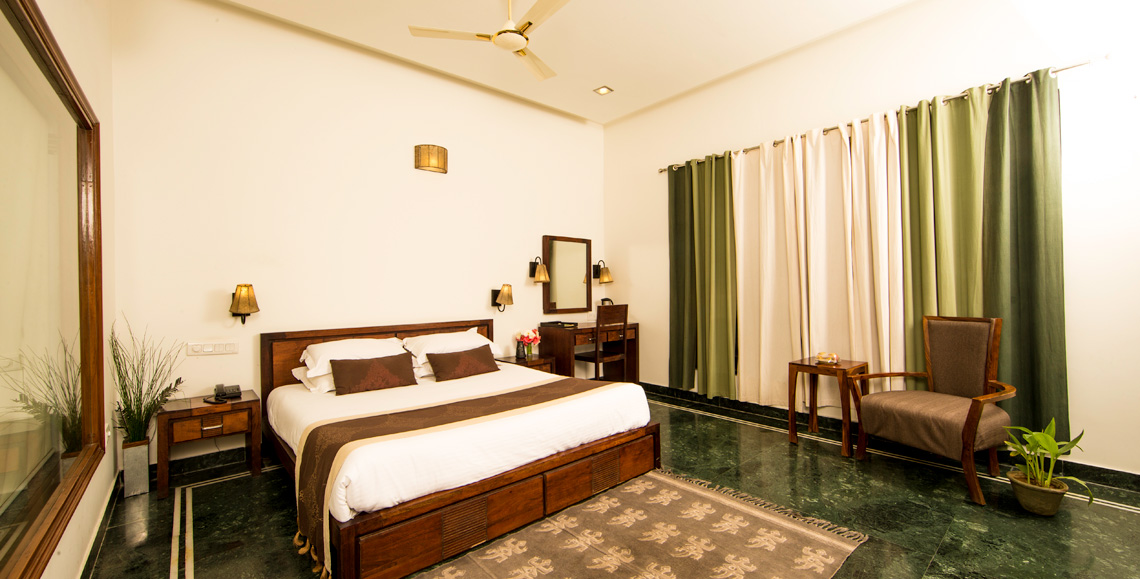Super Deluxe Room at Hotel Ranthambhore Regency, 3* Hotel in Ranthambhore