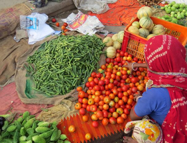 Sawai Madhopur market vegetables
