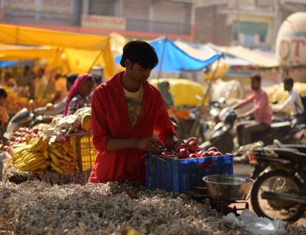 Sawai Madhopur bazaar