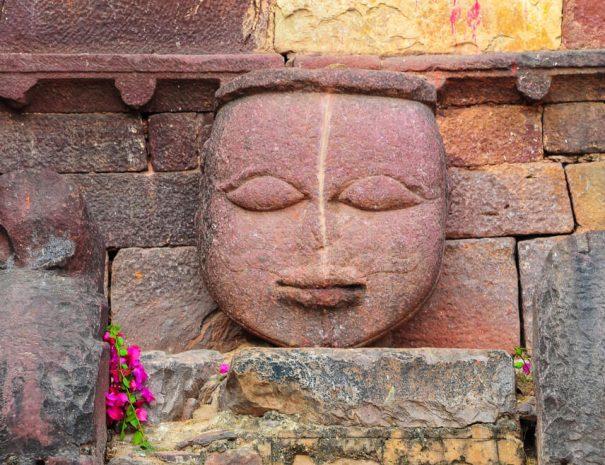 Stone carving at Ranthambhore Fort