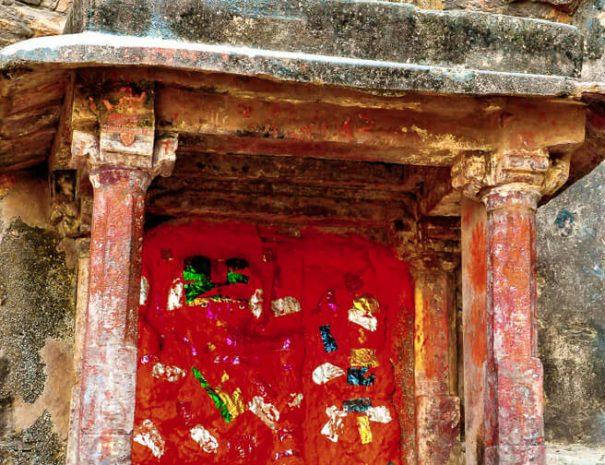 Ganesh temple at Ranthambhore Fort
