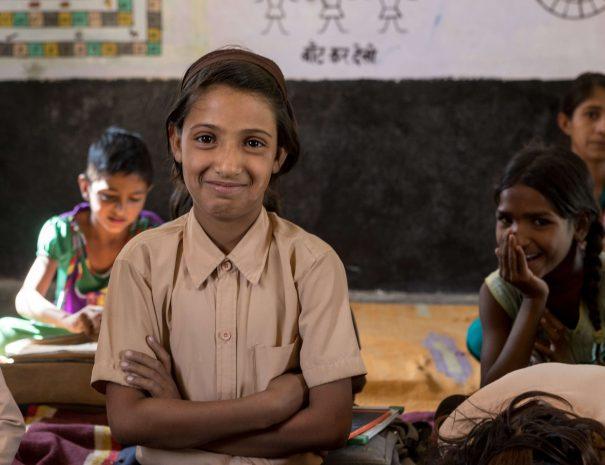 School visit in Ranthambhore, Rajasthan