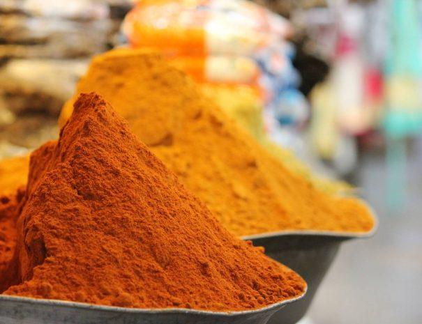 Sawai Madhopur market spices