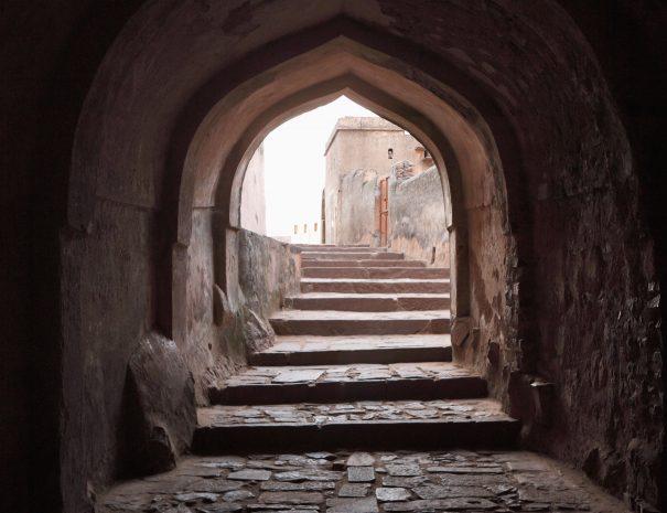 Stairway at Ranthambhore Fort, Rajasthan